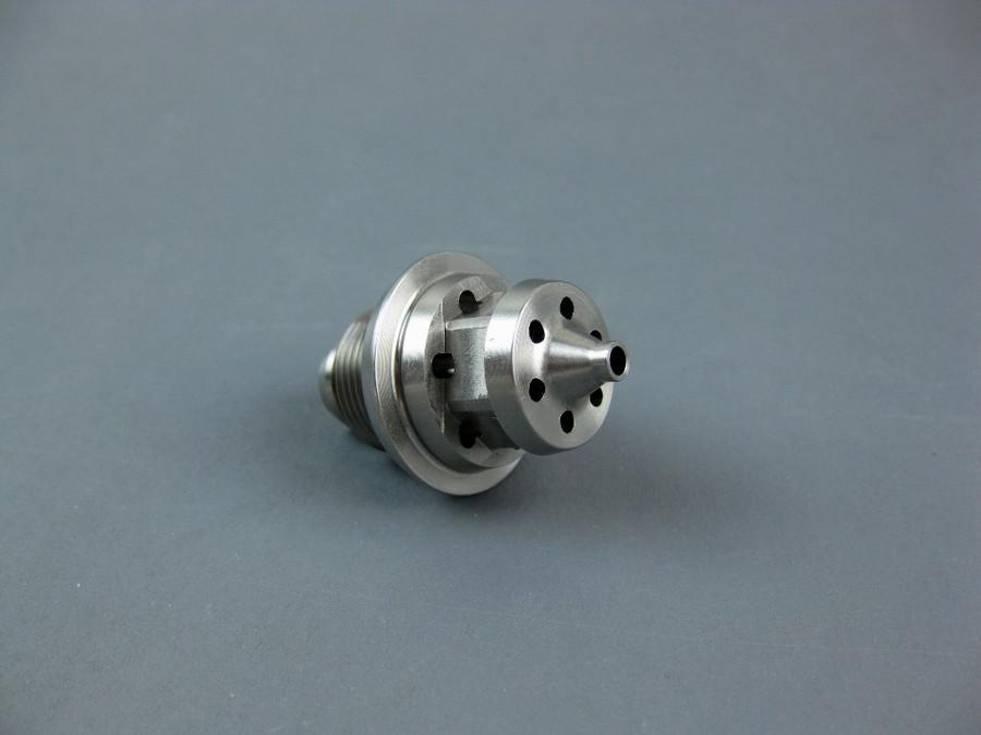 Aftermarket Binks 45-6801 Fluid Nozzle 68SS / C.A.T. 31-2128-P (Zinc) 2.8MM