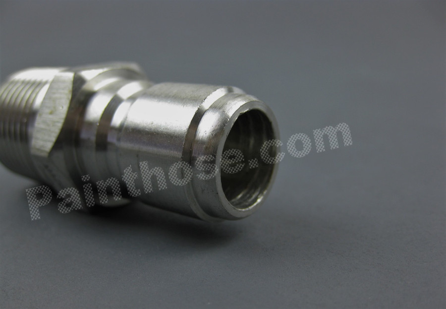 MTM Hydro 24.0084 Stainless Steel Quick Connect Plug 1/2 MPT