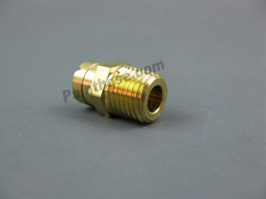"""MTM Hydro 17.0024 Soap Spray Nozzle Brass 1/4"""" M 6540"""