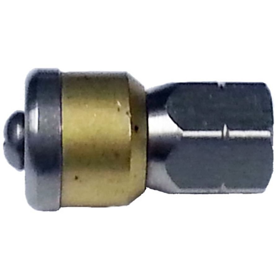 "MTM Hydro 17.0019 Rotating Sewer Nozzle 3 x 0.8MM -045 1/4"" F SS brass"
