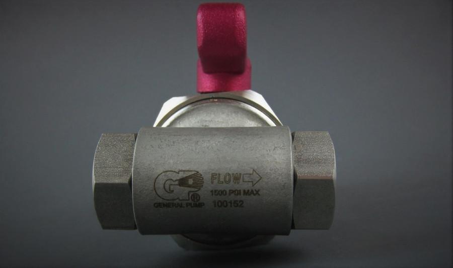 General Pump 100152 / 100-152 Pulse Pump W/ Ball Valve