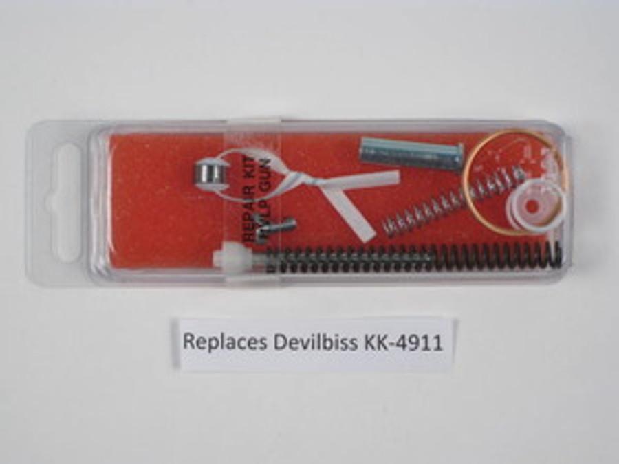 Bedford 20-1596 Replacement Devilbiss KK-4911 / kk4911 JGHV HVLP Gun Repair Kit Bedford 20-1596