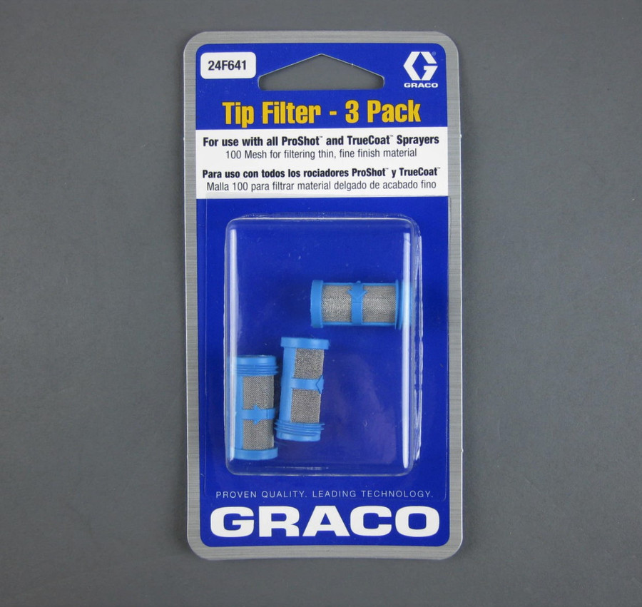 Graco 24F641 Filter 100 Mesh 3-Pack OEM