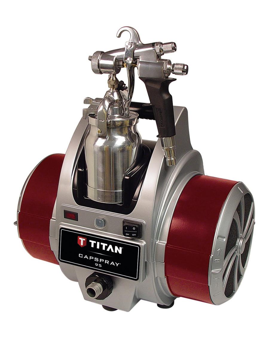 Titan 0524032 / 524032 CapSpray 95 HVLP Sprayer w/ Maxum II Gun