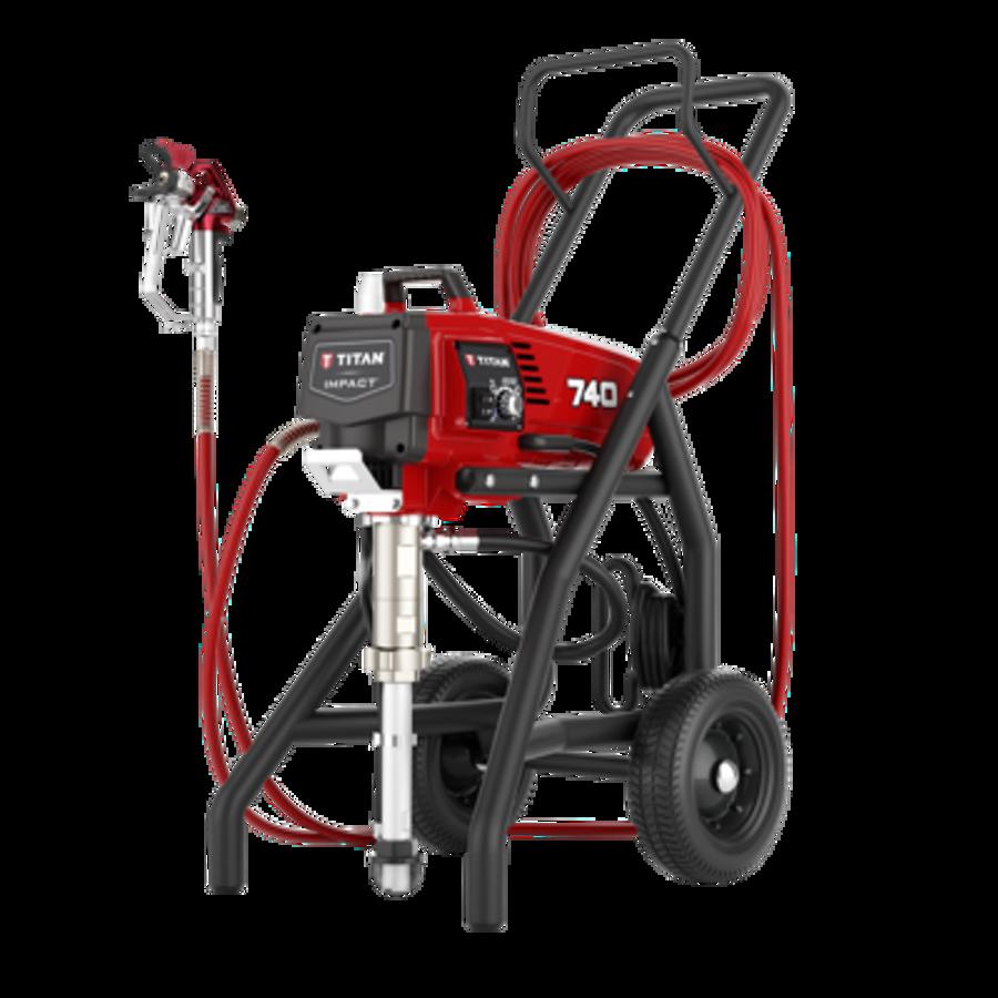 Titan 805-007 / 805007 Impact 740 High Rider Airless Paint Sprayer Complete