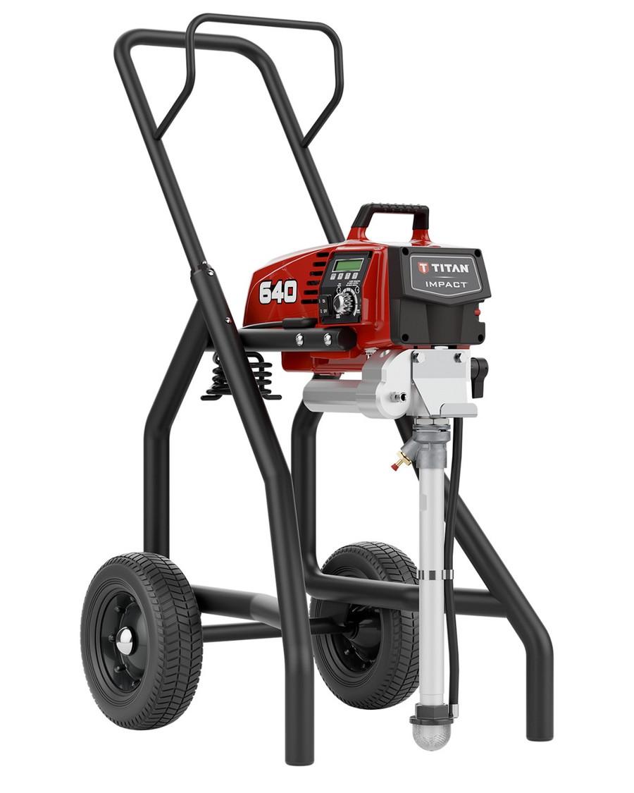 Titan 805-004 / 805004 Impact 640 High Rider Airless Paint Sprayer Complete