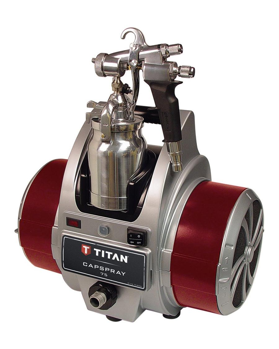 Titan 0524031 / 524031 CapSpray 75 HVLP Sprayer w/ Maxum II Gun