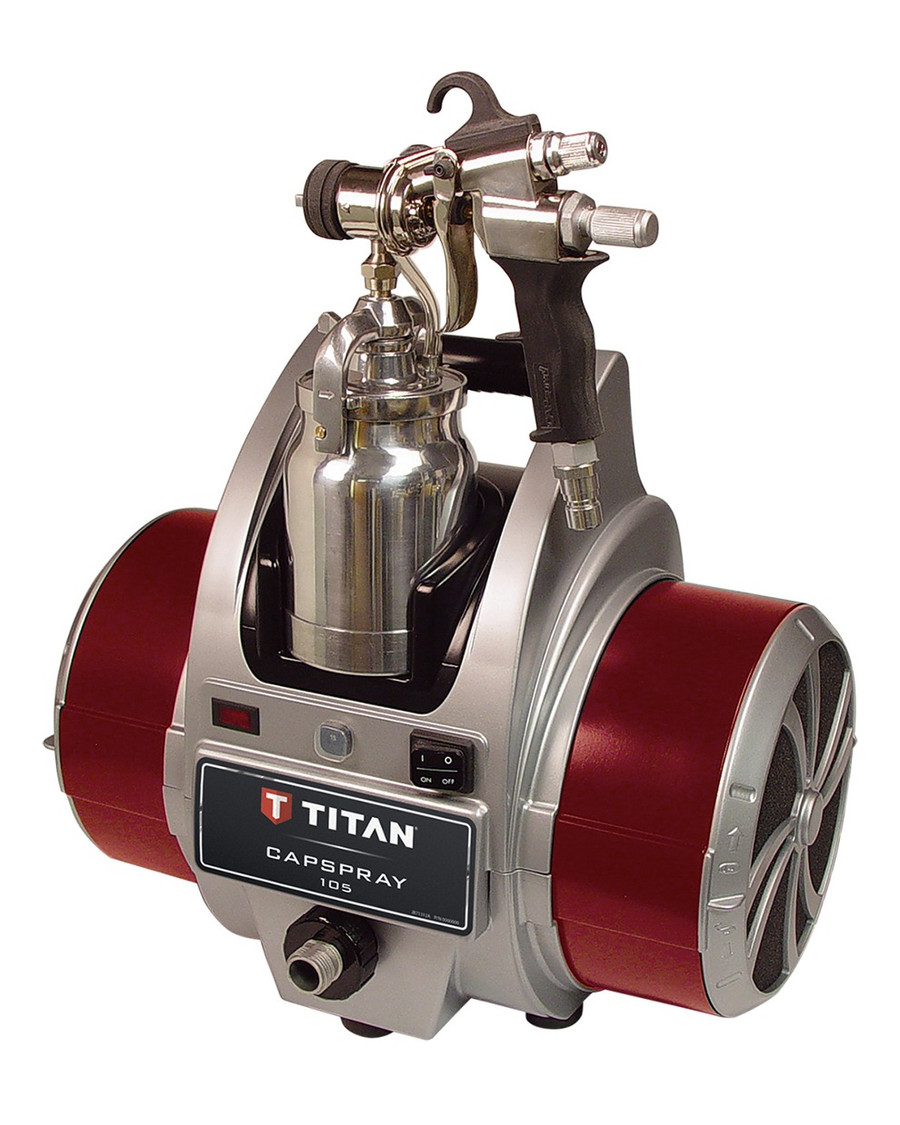 Titan 0524033 / 524033 Capspray 105 HVLP Sprayer w/ Maxum Elite Gun