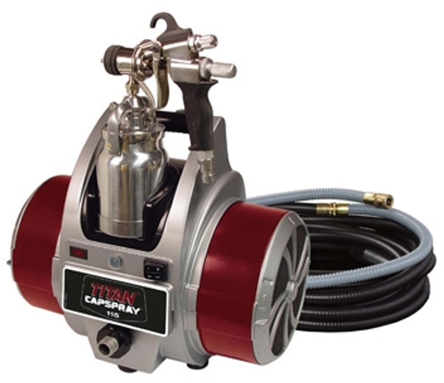 Titan 0524034 / 524034 Capspray 115 HVLP Sprayer w/ Maxum Elite Gun