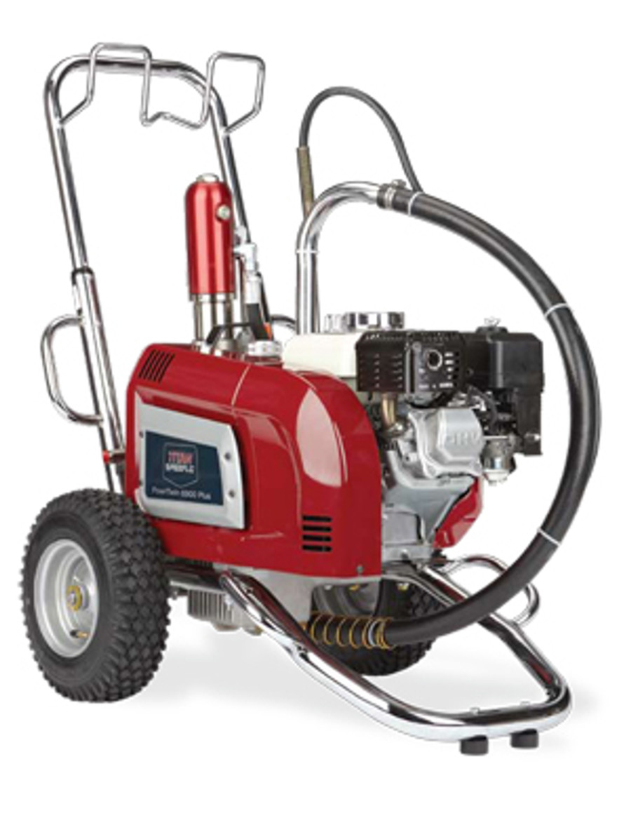 Titan 0290013 PowrTwin 6900 Plus Gas Honda Airless Sprayer