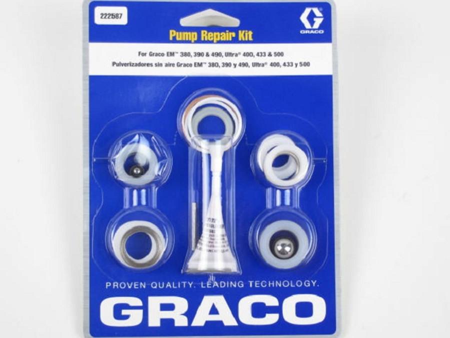 Graco 222587 or 222-587 Repair Kit OEM