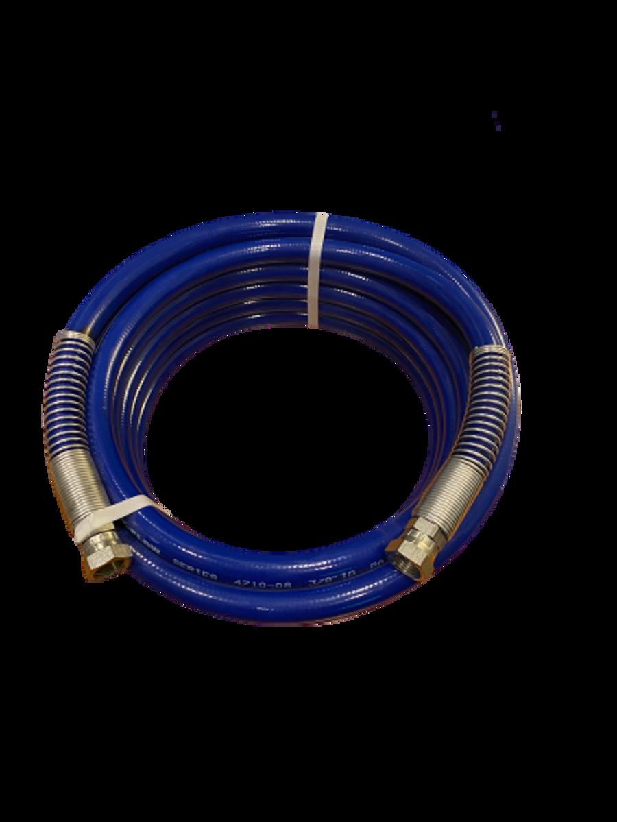 "Prosource Airless Paint Spray Hose 3300 PSI  3/8"" x 50' Blue"