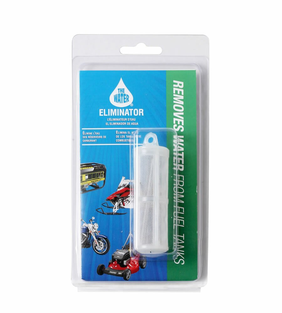 WATER ELIMINATOR PRODUCTS removes water from fuel!
