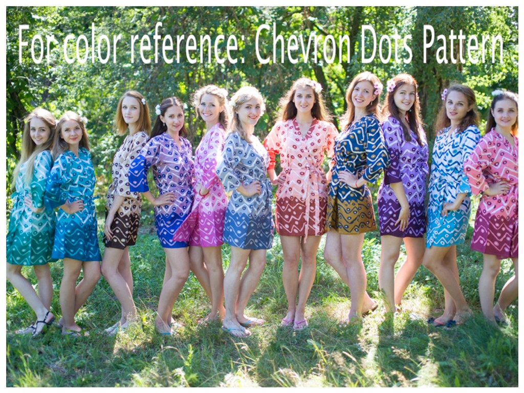 Chevron Dots pattern