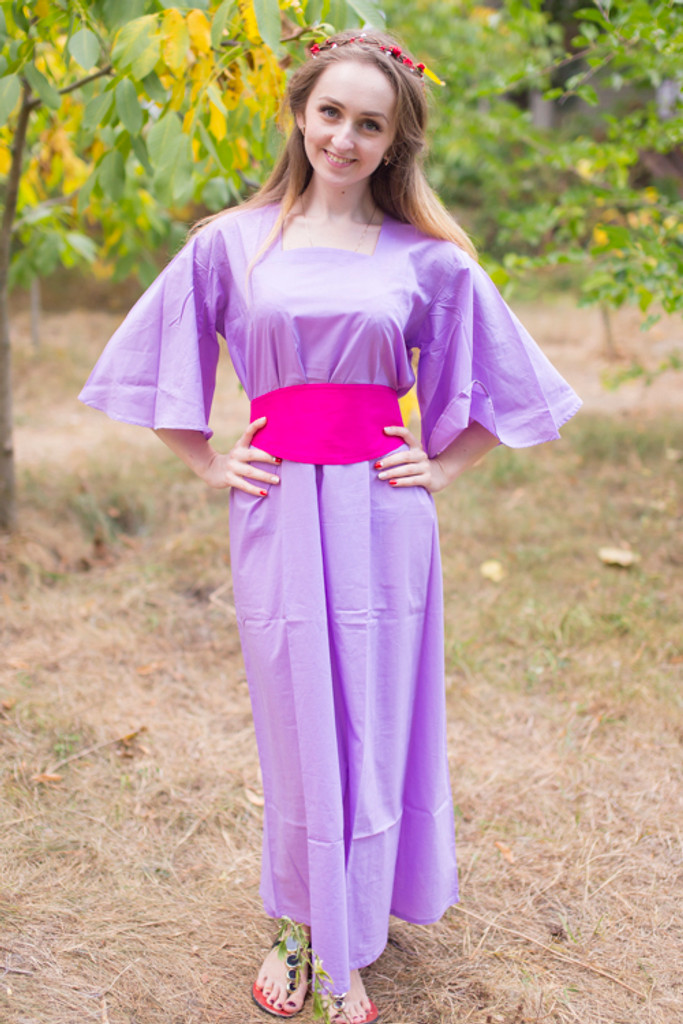 """""""Beauty, Belt and Beyond"""" kaftan in Plain and Simple pattern"""