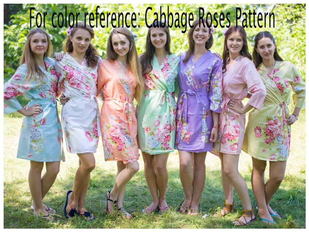 Cabbage Roses pattern