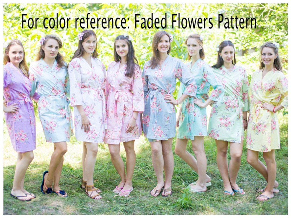 Faded Flowers pattern