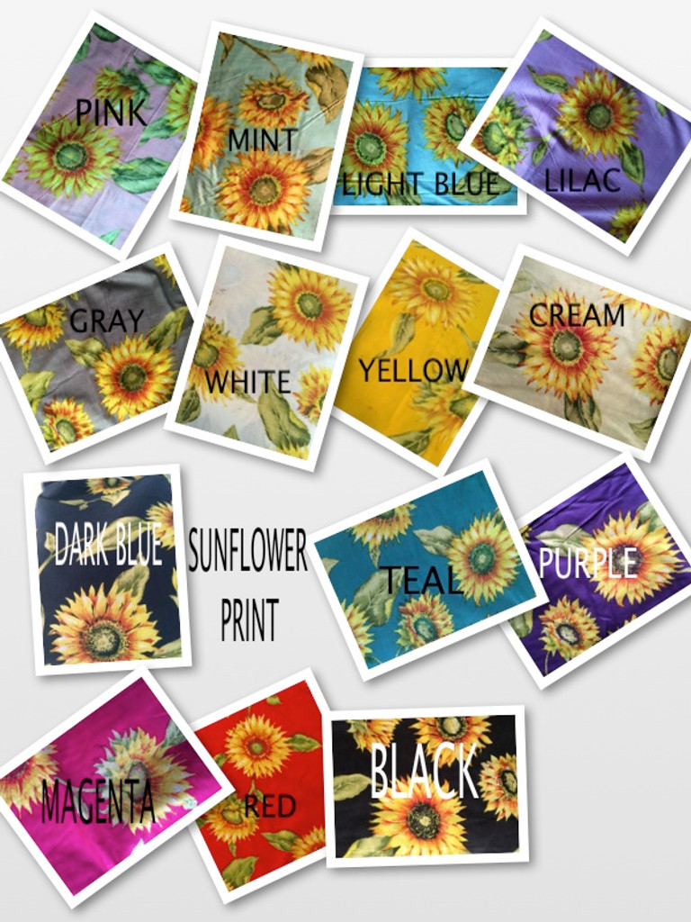 Sunflower Sweet pattern