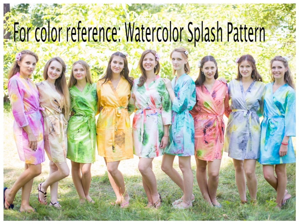 Watercolor Splash pattern