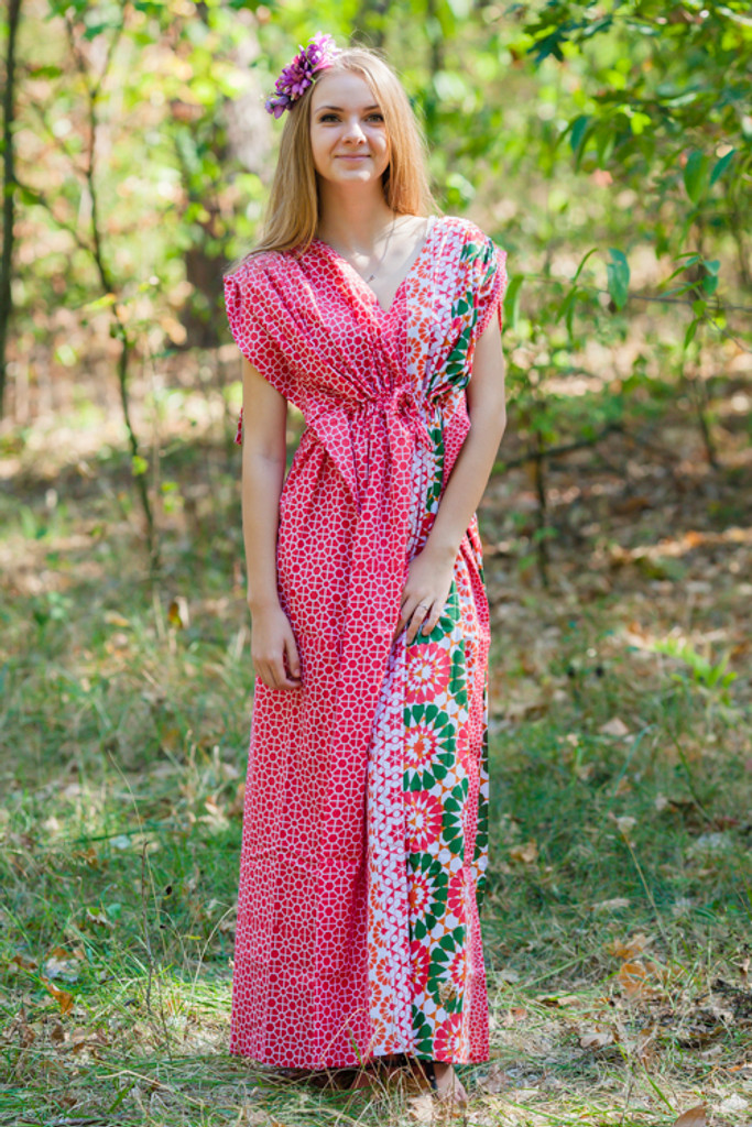 """""""Magic Sleeves"""" kaftan in Round and Round pattern"""