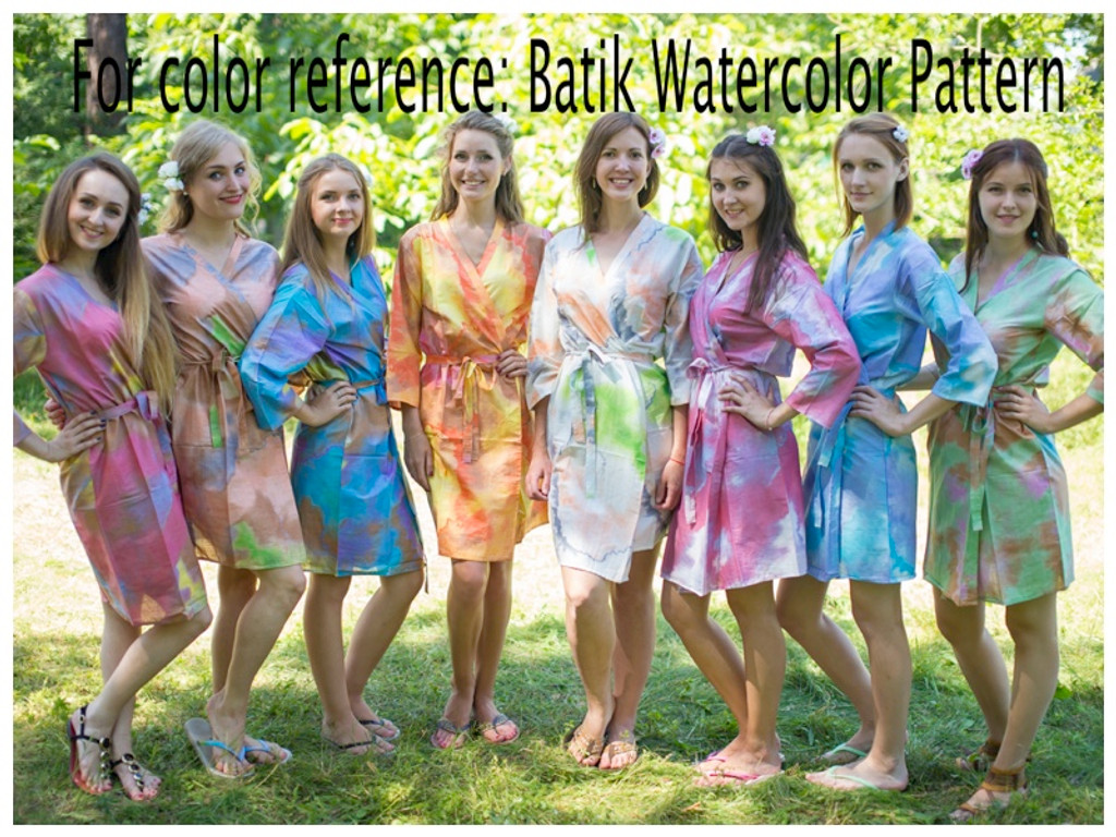 Batik Watercolor pattern