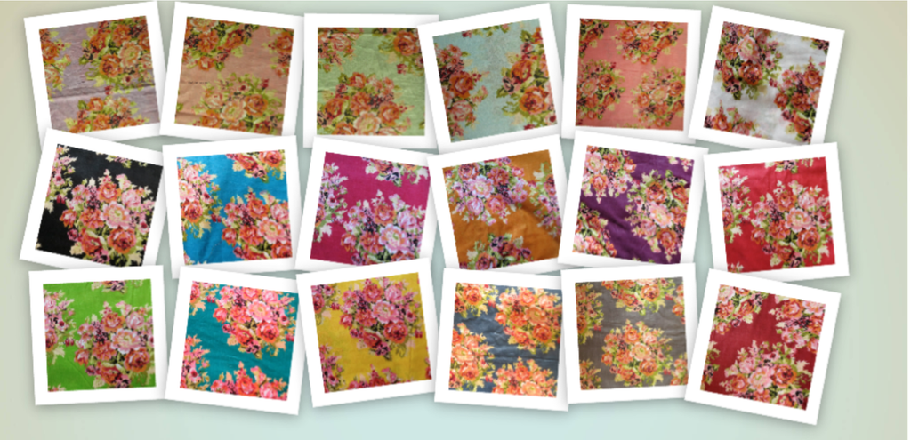 Floral Posy pattern