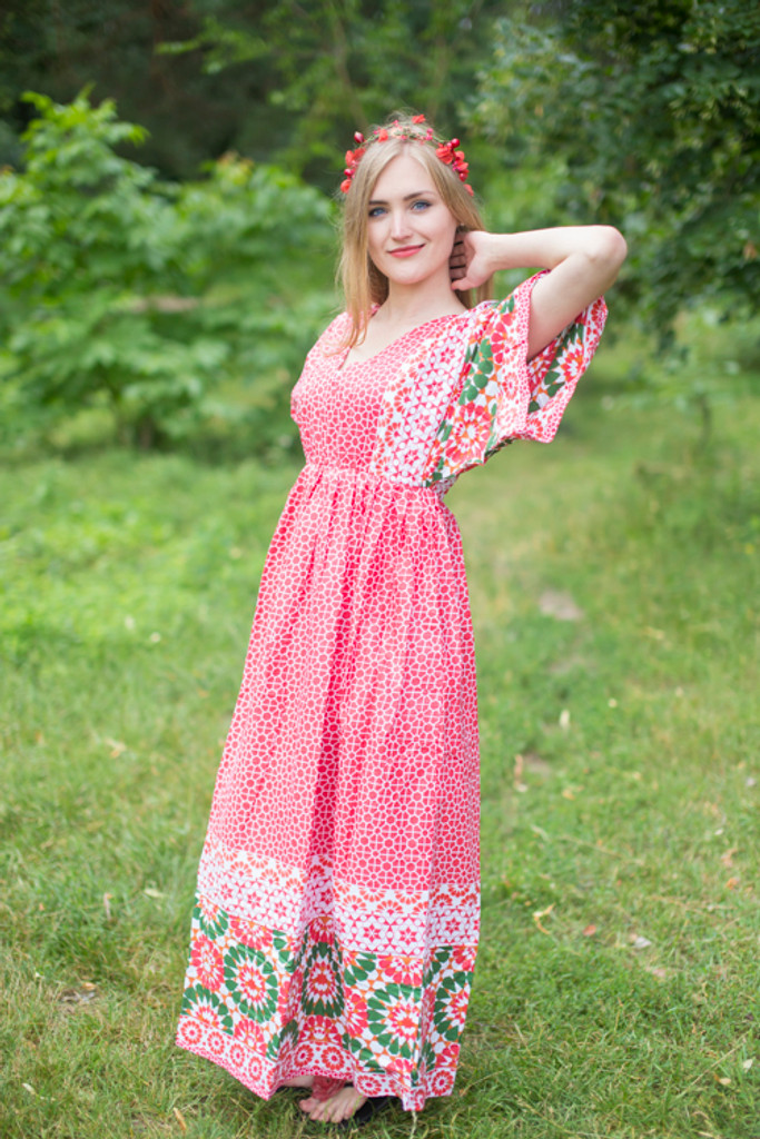 """""""I wanna Fly"""" kaftan in Round and Round pattern"""