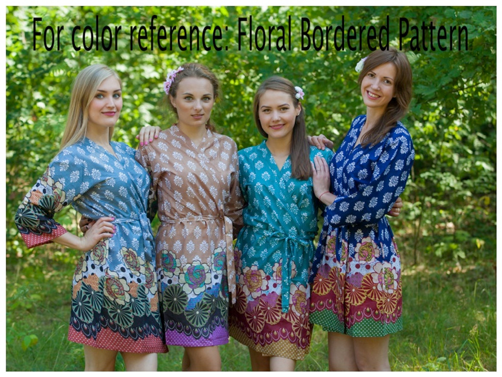 Floral Bordered pattern
