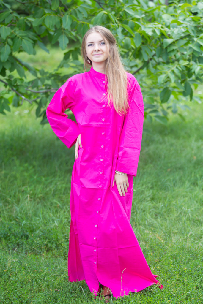 """Charming Collars"" kaftan in Plain and Simple pattern"