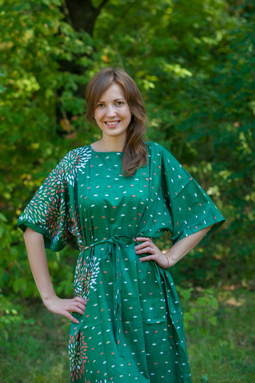 """""""Mademoiselle"""" kaftan in Abstract Floral pattern"""