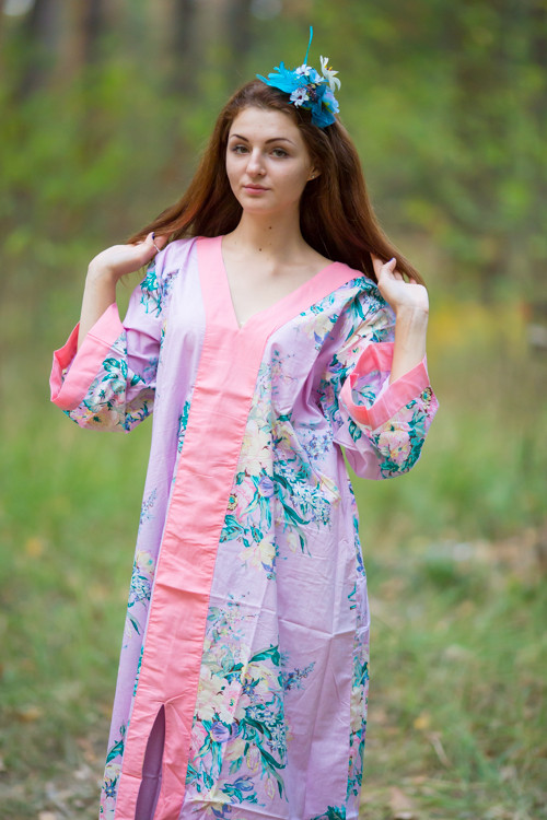 """The Glow Within"" kaftan in Blooming Flowers pattern"