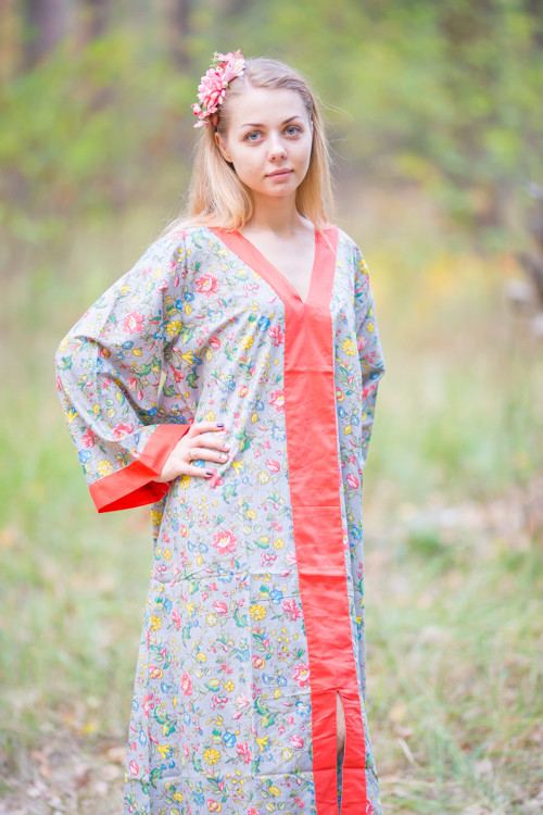 """The Glow Within"" kaftan in Happy Flowers pattern"