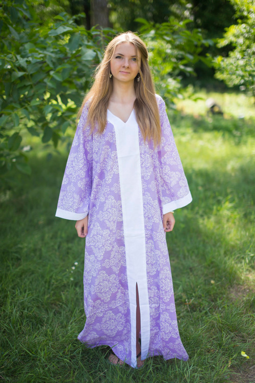 """The Glow Within"" kaftan in Damask pattern"