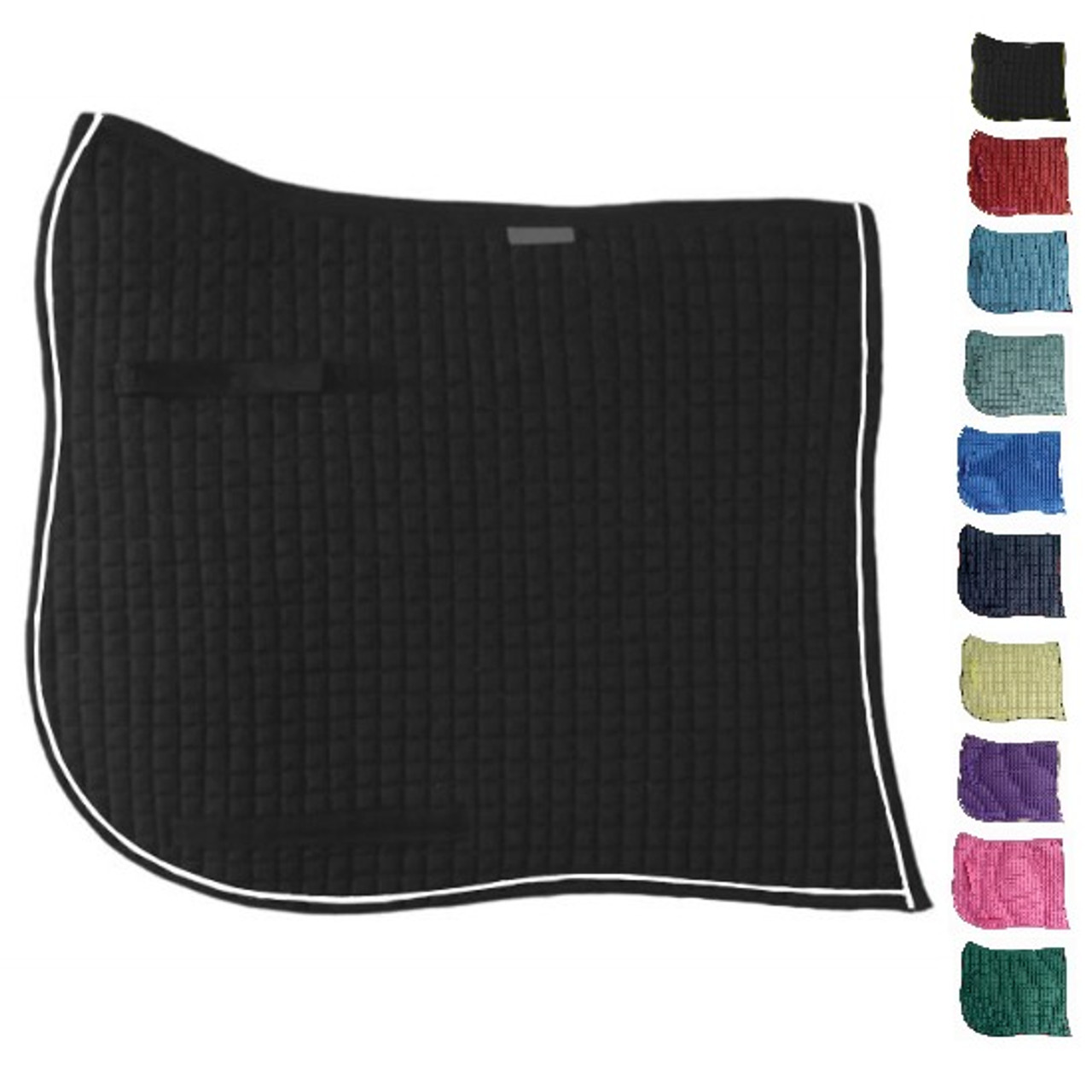 Custom Order Swallow-Tail Dressage Saddle Pads with Equu-Felt | PRI Pacific  Rim International