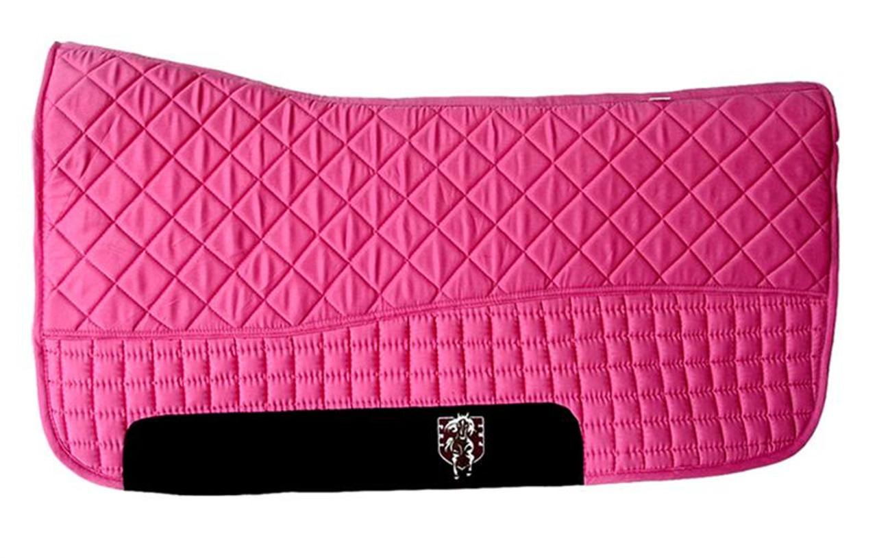 Magenta Hot Pink Western Saddle Pad Pri Double Back Saddle Blankets Bon Vivant Unique Equestrian Supply Accessories