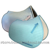 Baby Blue All-Purpose and Jumping Saddle Pads by PRI Pacific Rim International