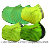 Lime Green All-Purpose Saddle Pads