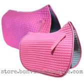 Candy Pink Dressage Saddle Pads