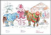 Christmas Horse Card:  Mine's Gucci #JT41