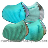Mint Green All-Purpose English Saddle Pads by PRI Pacific Rim International