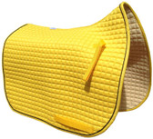 Sunflower Yellow Dressage Saddle Pad
