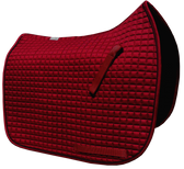 Burgundy Maroon Dressage Saddle Pad