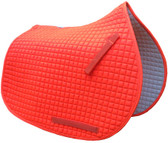 Hunter Safety Orange All-Purpose English Saddle Pad