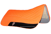 Neon Orange / Hunter Safety Blaze Orange Western Saddle Pad