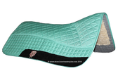 Teal Western Saddle Pad