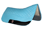 Turquoise / Atlantic Blue Western Saddle Pad