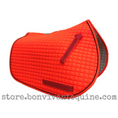 Neon, Blaze Orange Pony Saddle Pad for Trail Riding Safety During Hunting Season