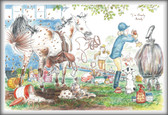 I'm Nearly Ready- Funny Horse Cards   Jude Too - Lesley Bruce