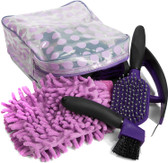 7 Piece Horse Grooming Set - Purple