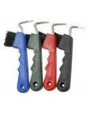Horse Hoof Picks with Brush in Assorted Colors  | Jack's Manufacturing